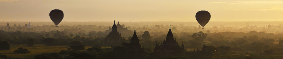 Old Bagan in Sunrise